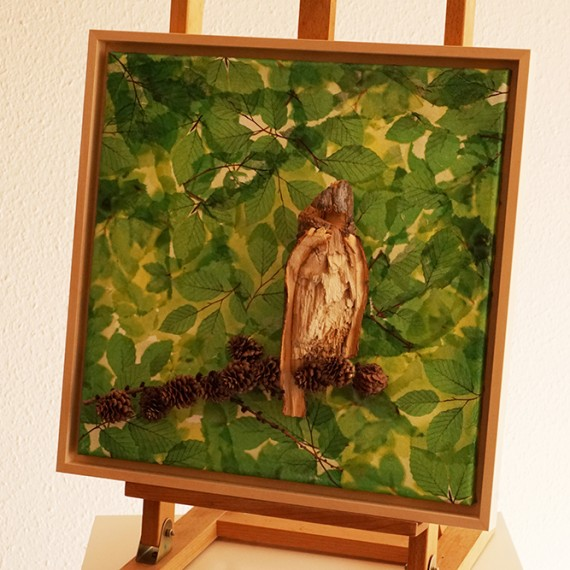 Vogel im Blätterwald